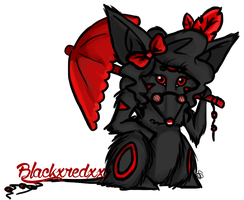 Blackred final style! by TheCupcakeCow