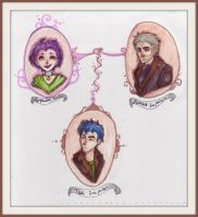 Lupin family by NerinaSam