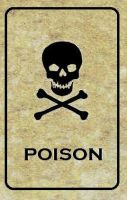 Poison Label by emptysamurai
