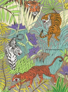 Tiger jungle by MaguschildCloud