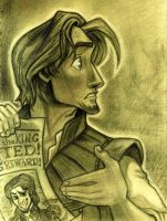 -Flynn Rider- by lizzzy-art