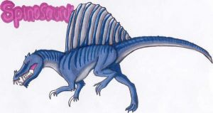 Spinosaurus again... by qwerty1198