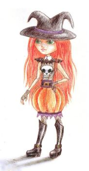 Halloween Costume for doll by SeshireCat