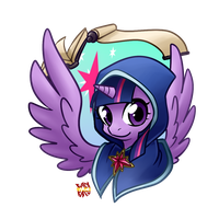 Twilight Sparkle - The Scepter of Harmony Concept by norang94