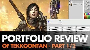 Portfolio Review of Tekkoontan by ClintCearley