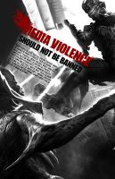 Media Violence Poster II by ChickenChasser
