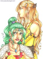 Terra and Celes by anniefelis