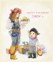 Happy Birthday Jack Jr. by amoykid