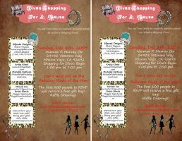 Divas Flyer by Charon-The-Great