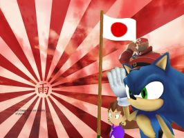 japan to our victory wallpaper by sonicdevil18