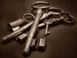 Rusty Keys by PsychoBudgie