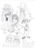 Black Butler Chibis by taytay128