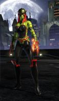 DC Universe Online -Texas Rose by dbmills1