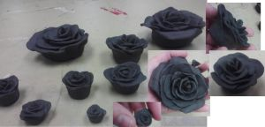 Roses in progress by Stella--Marie