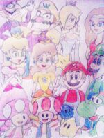 Marios friends and allys by ashlee1203