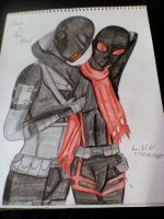 Slade X Red Blood by LordVaderNihilus