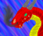 Red Dragon Doodle by Spartan0-0-0