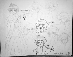 Oliver Maxwell- Oliver and Ego sketches by XBloodClash-mumblesX