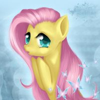 Portrait Fluttershy by Taletime