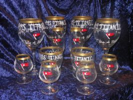 Titanic Glasses by DisturbedGrave