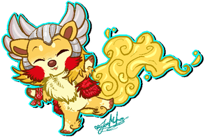 Chibi Pixel YCH: Thor Odinsoosh~ by ScottishRedWolf