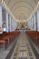 Inside the Cathedral of Saint-Pierre in Martinique by A1Z2E3R