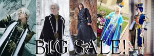 BIG SALE OF COSPLAY COSTUMES! BUY IT, PLEASE Q__Q by OkariDane