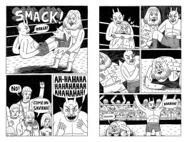 Fight Pages 1 and 2 by Teagle