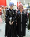 MCM London 2012 Zexion And MarluXia by MJ-Cosplay