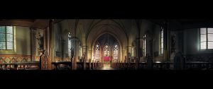 Church Panorama HDR by lomax-fx