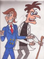 Chit as Dr. Doofenshmirtz by sideshowbobfanatic