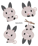 Chibi Big-Eared Opossum by Daieny