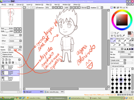 Alex Chibi Line Art Tutorial by aninhachanhp