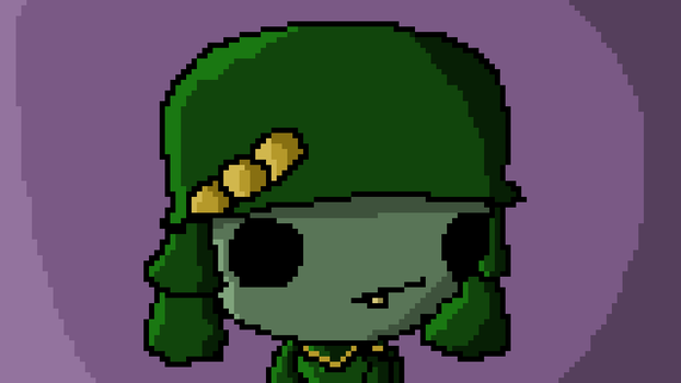 Smoll Zambie Soldier by Ponyed-Characters
