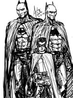 Batman and Batman and Robin by Archonyto