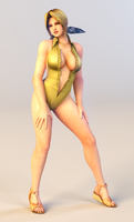 3DS Render Request: Helena 4 by x2gon