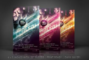 Live Concert Flyer Template by ryan-mahendra