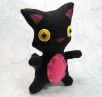 Cat Plush by DragonsAndBeasties