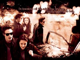 Edward Bella breaking the rule by Miss-deviantE