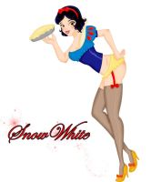 Disney Pin Ups - Snow White by vika8D