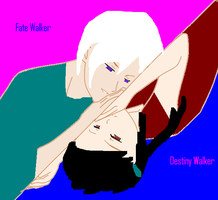 Fate and Desitny Walker, a 3 year Difference! by GermanyAPH77