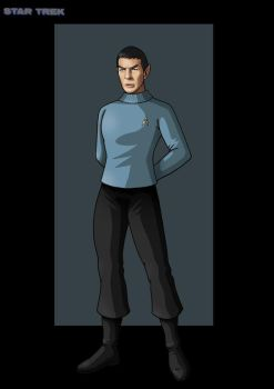 science officer spock by nightwing1975