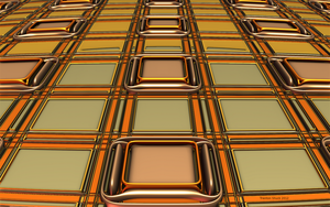Golden Grid by Trenton-Shuck