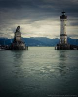The Lindau waters by Dynnnad