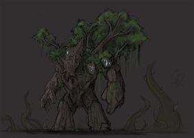 Rooftrellen, the Treant Protector by Halycon450