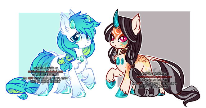 Crystal hooves Auction (CLOSED) by xWhiteDreamsx