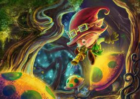 Teemo- Forest' creature skill- FANART by HisakiChan