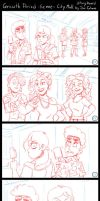 Growth Period - The City Mall Storyboard Scene. by Atariboy2600