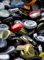 beer bottlecaps 6 by Kvaale