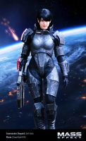 Commander Shepard (femshep) Mass Effect Cosplay 03 by Evil-Siren